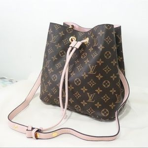 Handbags - Louis Vuitton 10 x 9 x 11 Brown Pink